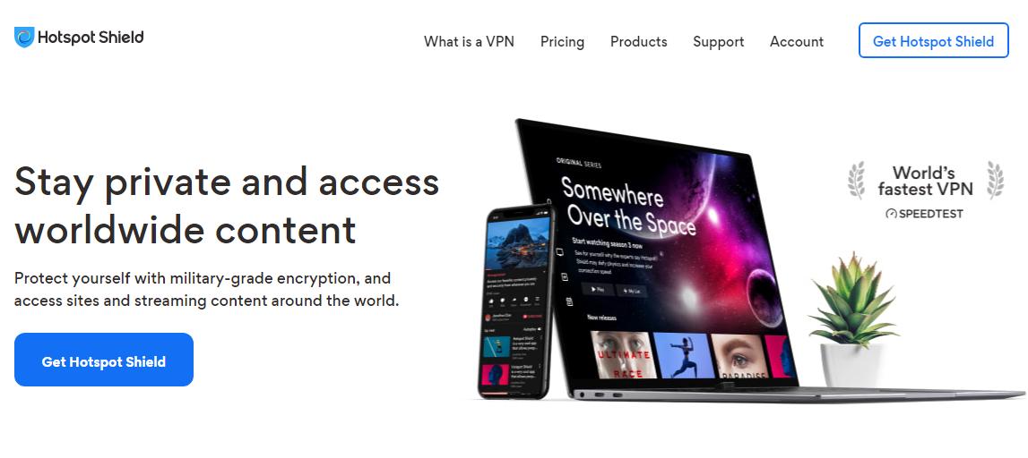Hotspot Shield – Super VPN for Netflix