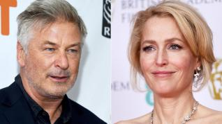 Alec Baldwin Deletes Twitter Over Response on Gillian Anderson Post