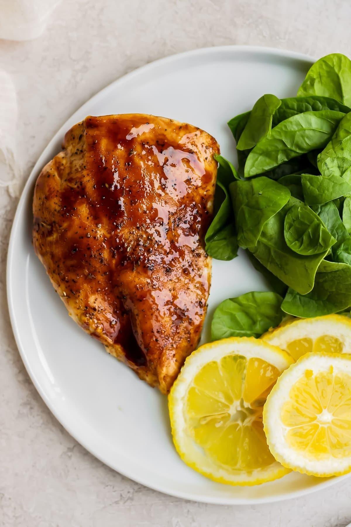Baked Lemon Honey Balsamic Chicken Recipe