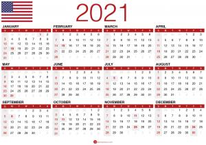 Calander 2021