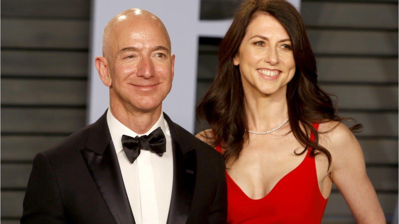 Jeff Bezos and Mackenzie Bezos have split