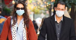 Katie Holmes Stuns On Romantic Lunch Date with New Beau Emilio Vitolo