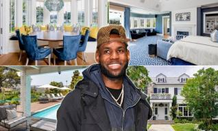 LeBron James Lists $20.5 Million Los Angeles Mansion