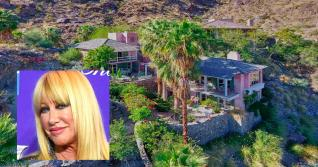 Suzanne Somers Lists Massive Palm Springs Mansion for $8.5M