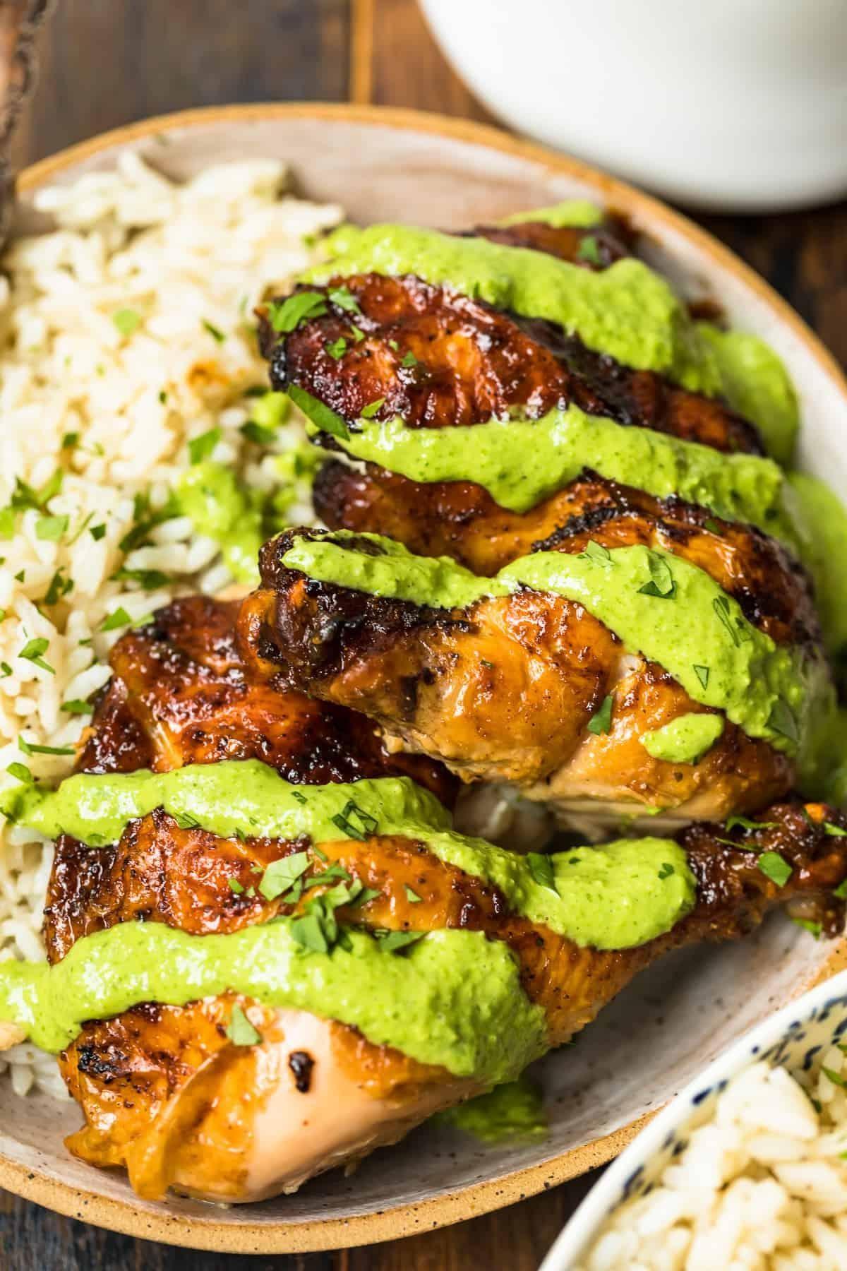 Whole Roasted Peruvian Chicken Recipe