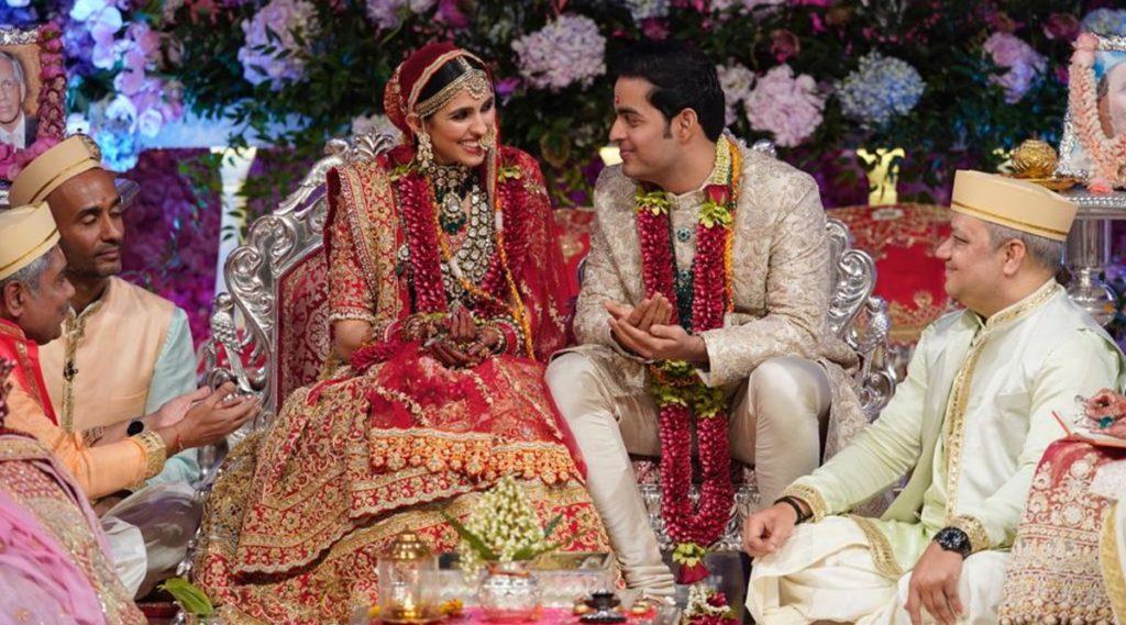 Akash Ambani and Shloka Mehta's wedding