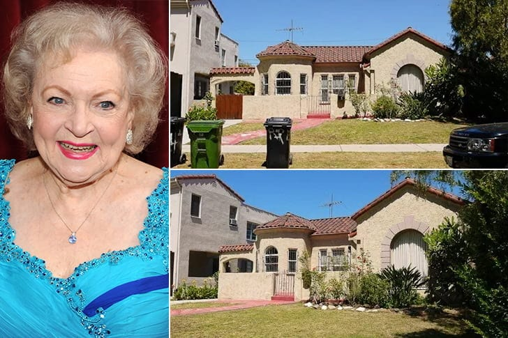 Betty White - Celebrity Homes