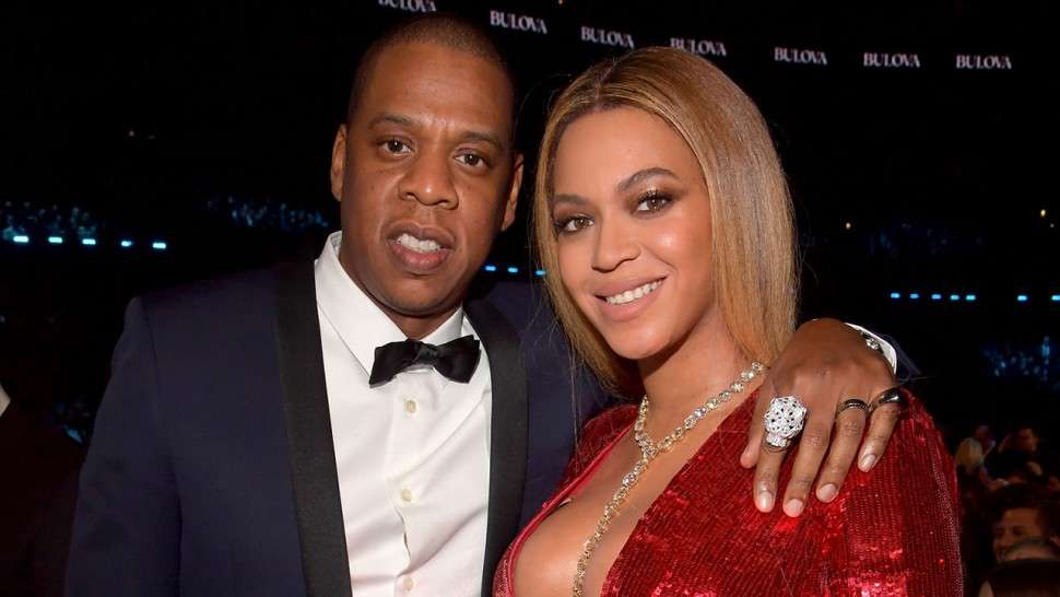 Power couple Jay-Z and Beyoncé