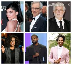 Top Six Richest Hollywood Celebrities and their Net Worth