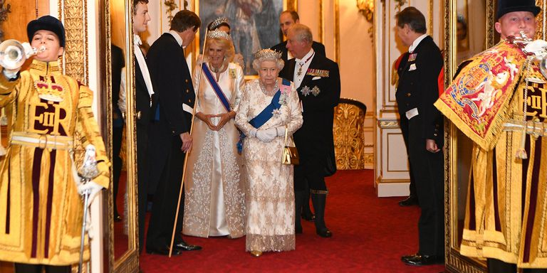 The Royal Family at Queen's Diplomatic Reception 2018