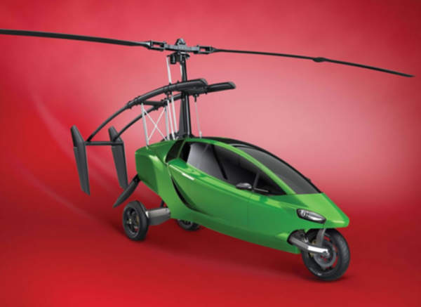 The $400,000 street-legal motorcycle that turns into a helicopter