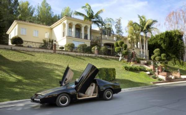 Original 'Knight Rider' car for sale but be prepared to haggle the Hoff
