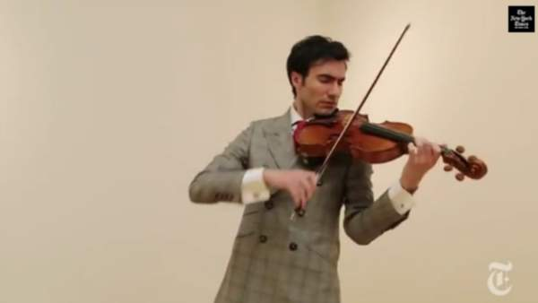 No pluckin' way! Stradivarius Viola is the world's most expensive musical instrument