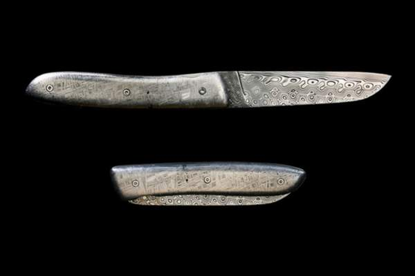 Pocket Knife Made Of Meteorite Worth Every Penny Of $5,200 Asking Price