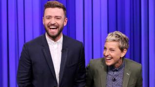 Justin Timberlake Reveals New Baby Boy's Name to Ellen DeGeneres