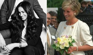 Meghan Markle wears Princess Diana's Expensive Cartier Watch