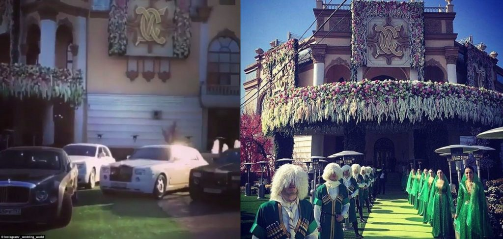 Most expensive Russian wedding