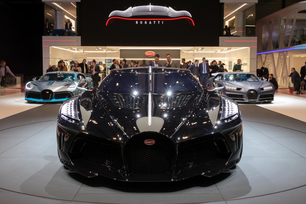 Most Expensive Car - Bugatti La Voiture Noire