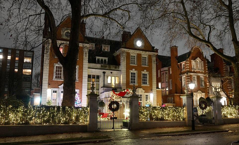 Tamara Ecclestone's Mansion