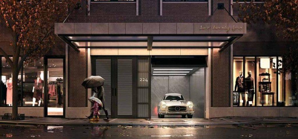 Parking Spot in Manhattan